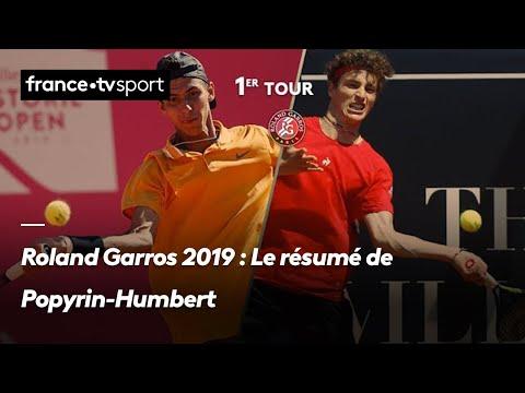 Roland Garros 2019 : Le résumé de Popyrin-Humbert