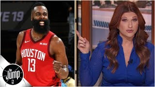Breaking down James Harden's ridiculous 3-pointer (and game) vs. Warriors | The Jump