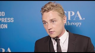HFPA Grants Banquet 2018 Lounge: Ben Hardy