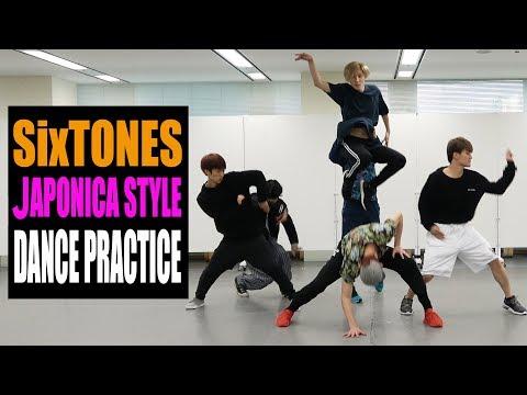 SixTONES【ダンス動画】JAPONICA STYLE (dance ver.)