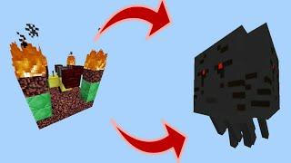 Cách Tạo Ra Ghast 3 Đầu Phá Hủy Cả 1 Hòn Đảo Trong Tích Tắc !!! - Minecraft PE