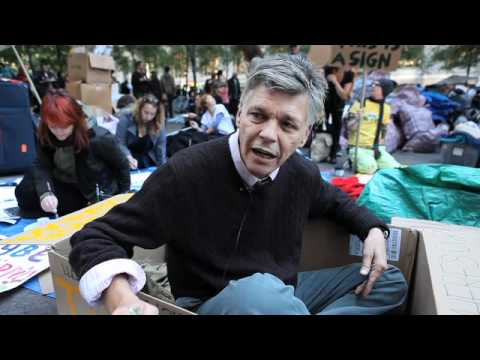 Voices From Zuccotti: David Everitt Carlson, 55 - Smashpipe entertainment