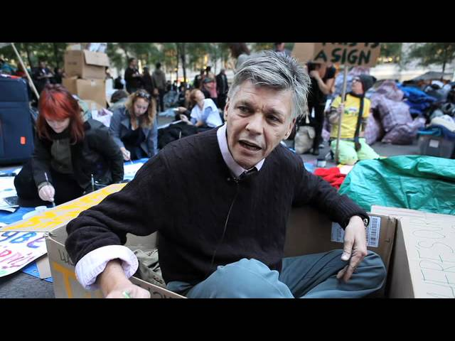 Voices From Zuccotti: David Everitt-Carlson, 55 - Smashpipe entertainment