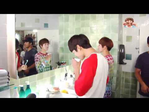 [121005] 아름다운 그대에게 Making Film _Taejun & Eungyul's Teeth Brushing Battle