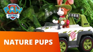 PAW Patrol | Forest and Tree Rescues! Nature Pups! | Toy Episode