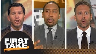 Stephen A., Will and Max debate: Is LeBron James right about double standards? | First Take | ESPN