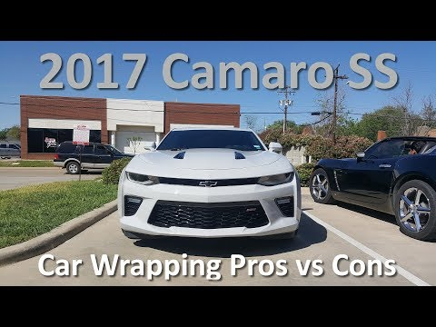 Car Wrapping Pros vs Cons | WRAPPED 2017 Camaro SS