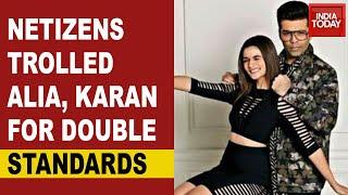 Sushant Singh Rajput: Netizens trolled Karan Johar, Alia B..