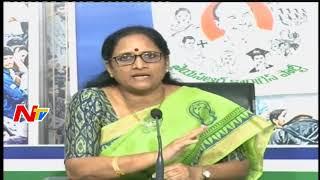 Vasireddy Padma slams TDP- Nandyal By-Election..
