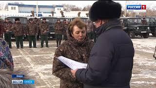 Автопарк Главного управления лесного хозяйства Омской области сегодня пополнился новой техникой