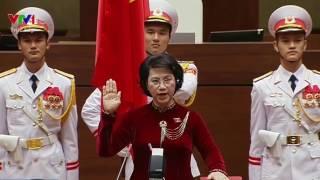 PLO - Chủ tịch Quốc hội Nguyễn Thị Kim Ngân tuyên thệ nhậm chức