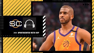 My sadness for Chris Paul is 'inescapable' - Stephen A. | SC with SVP
