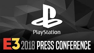 SONY PlayStation Press Conference @ E3 2018 【Live Stream】