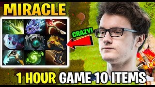 MIRACLE Medusa 10 Items slotted 1 Hour try hard Game Dota 2 7.21d