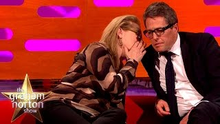 Meryl Streep Leaves Hugh Grant Speechless - The Graham Norton Show