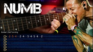 Linkin Park - Numb (Guitar Tutorial + Tabs)