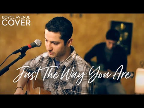 Bruno Mars - Just The Way You Are (Boyce Avenue acoustic/piano cover) on Spotify & Apple