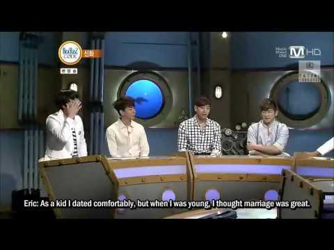 [ENG SUB] Beatles Code Part 1 of 2 (Shinhwa, Minwoo, Chunji, Hyoeun)