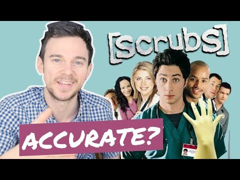 How accurate is SCRUBS first episode? Real doctor vs JD's first day (REACTION)