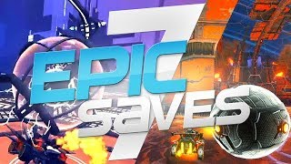 ROCKET LEAGUE EPIC SAVES 7 ! (BEST SAVES BY COMMUNITY & PROS)