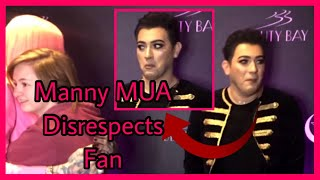 Manny MUA Disrespects Fan at Jeffree Star Meet and Greet