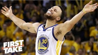 Steph Curry will remind the Warriors of his greatness with KD out - Stephen A. | First Take
