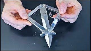5 Weirdest Folding Knives Mechanisms - part 10