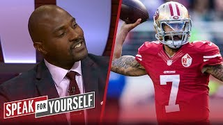 Marcellus Wiley weighs in on Kaepernick's deal with Nike | NFL | SPEAK FOR YOURSELF