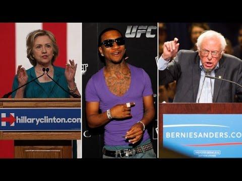 Rapper Lil B Endorses Pesidential Candidate Bernie Sanders