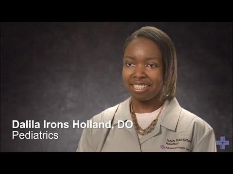 Meet Dr. Dalila Irons-Holland, Pediatrician - Advocate Health Care