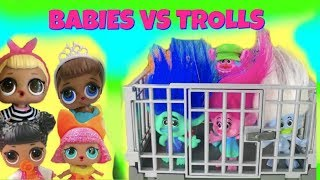 Dreamworks TROLLS Rescue! LOL Surprise Dolls  Poppy & Branch