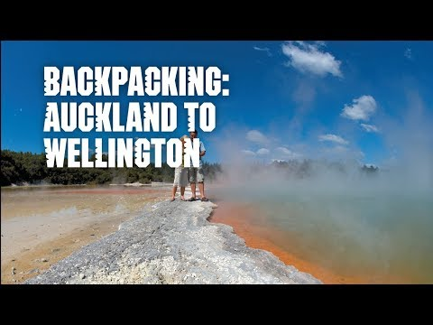 A backpacking journey: Auckland to Wellington