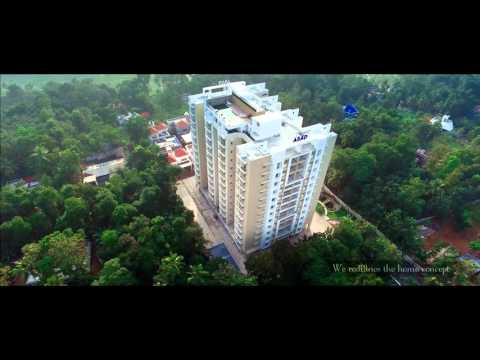 Luxury flats & Apartments in Kottayam HD- Abad Royal Gardens