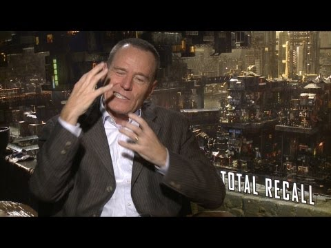 'Total Recall' Bryan Cranston Interview