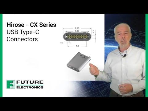 Hirose - CX Series USB Type-C Connectors
