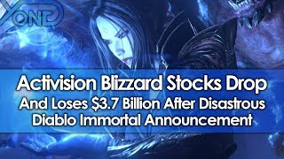 Activision Blizzard Stocks Drop & Loses $3.7 Billion After Diablo Immortal's Disastrous Announcement