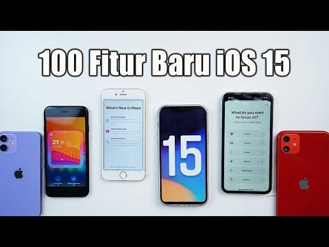 iOS 15 Rilis! 100 Fitur Baru yang harus kamu ketahui