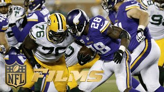 'Sound FX': Adrian Peterson Mic'd Up in NFC North Battle with the Packers | NFL Films