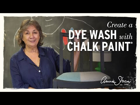 How to create a dye wash using Chalk Paint®
