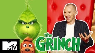 Benedict Cumberbatch On The Grinch Funniest Moments & His Excitement For Avengers 4   MTV Movies