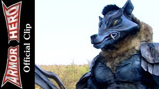 Fights with the Wolf Monster (3) - Armor Hero Official English Clip [HD] - 22