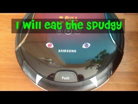 Samsung Robot Vacuum vs Dog