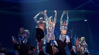 Lady Gaga 4k Enigma concert. Poker Face!