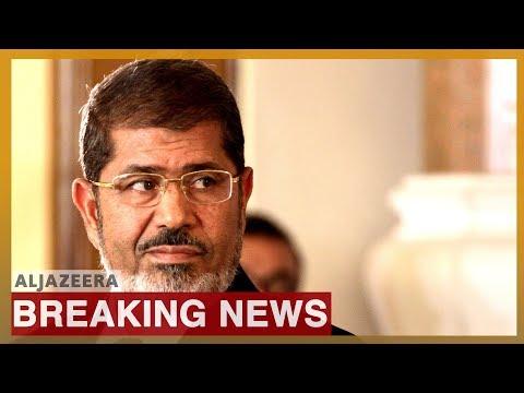 Egypt's former president Mohamed Morsi dies: State media