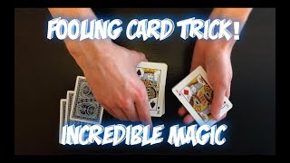 One Of My All-Time FAVORITE Tricks! Insane Card Trick Performance And Tutorial!