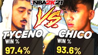 TYCENO vs CHICOFILO GAME OF THE YEAR in NBA 2K21