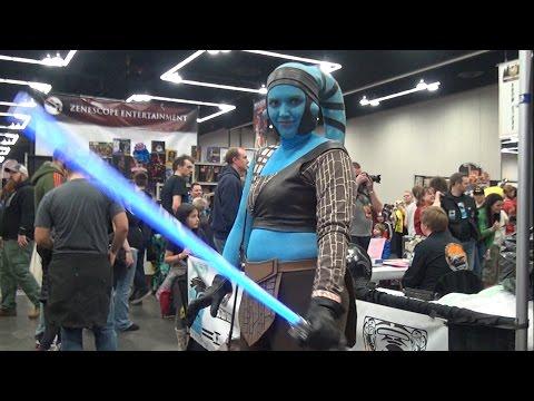 Comic Con (2), Portland, Oregon in VR 3D SBS 4K (Updated)