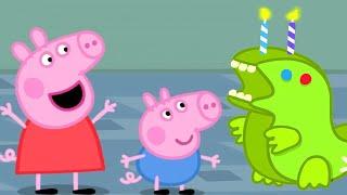 Peppa Pig English Episodes 🎂 Peppa Pig Celebrates George Pig's Birthday | Peppa Pig Official
