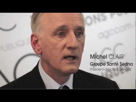 Michel Clair, Président-directeur général de Groupe Santé Sedna