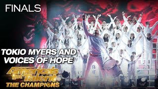 Tokio Myers And Voices Of Hope Children's Choir Stun The Crowd - America's Got Talent: The Champions